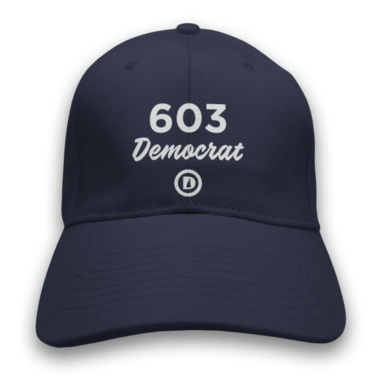603 Democrat (Navy Baseball Cap)