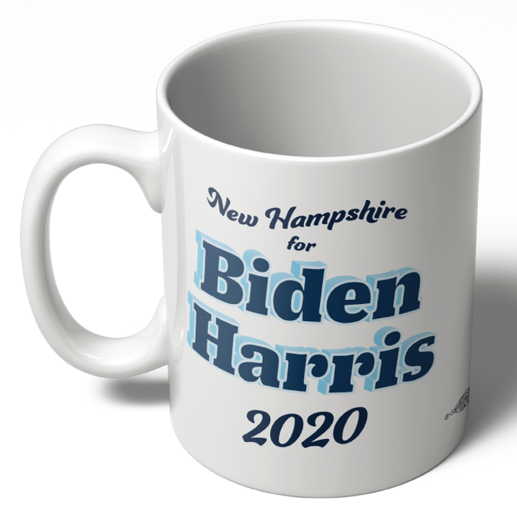 NH For Biden Harris (11oz Ceramic Mug)