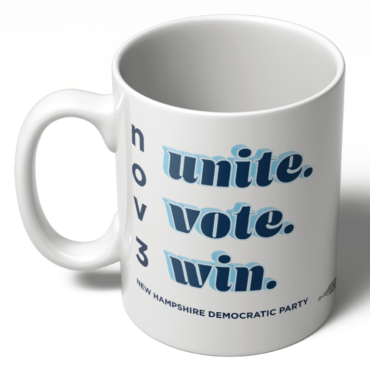 Unite Vote Win (11oz Ceramic Mug)