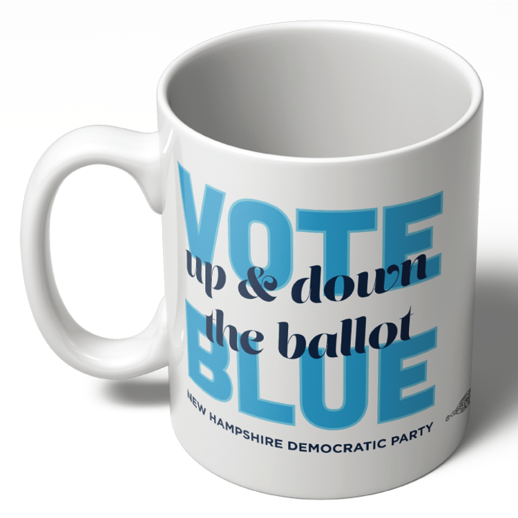 Up And Down The Ballot (11oz Ceramic Mug)