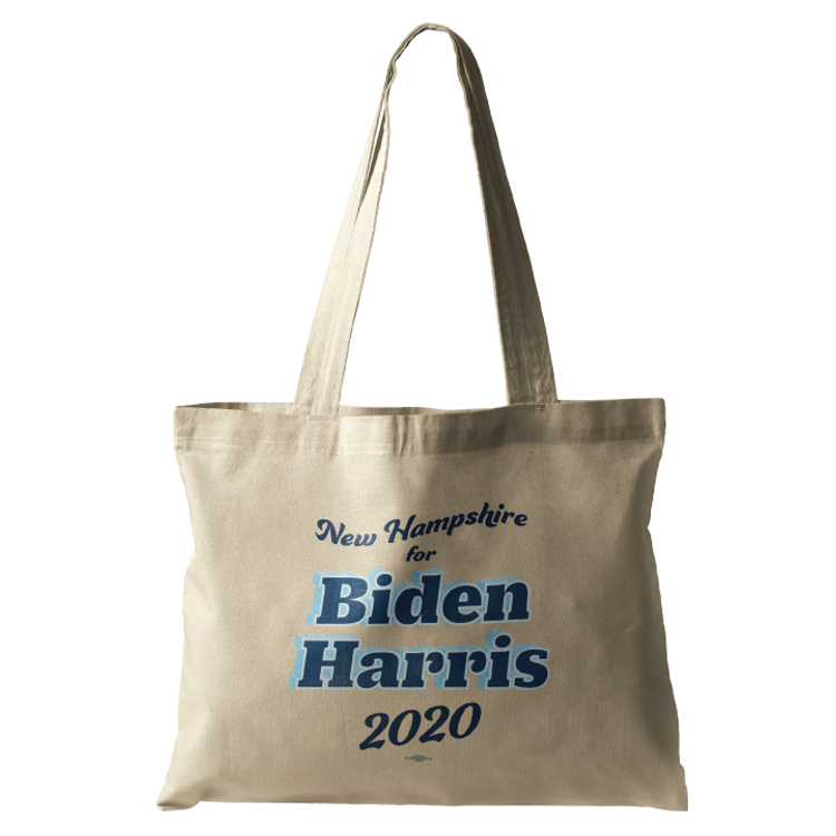NH For Biden Harris (Natural Canvas Tote)