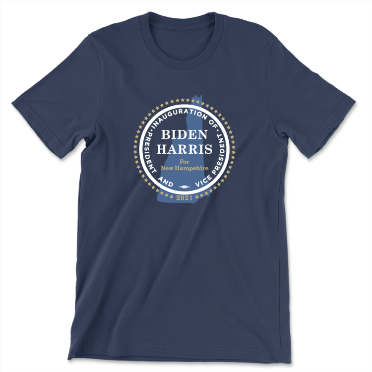 Inauguration Seal (Unisex Navy Tee)
