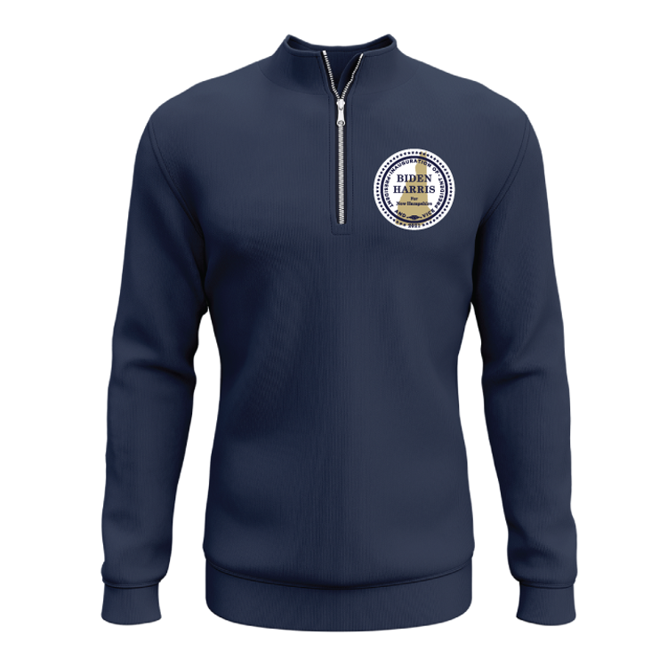 Inauguration Seal (Navy Quarter-Zip Sweatshirt)