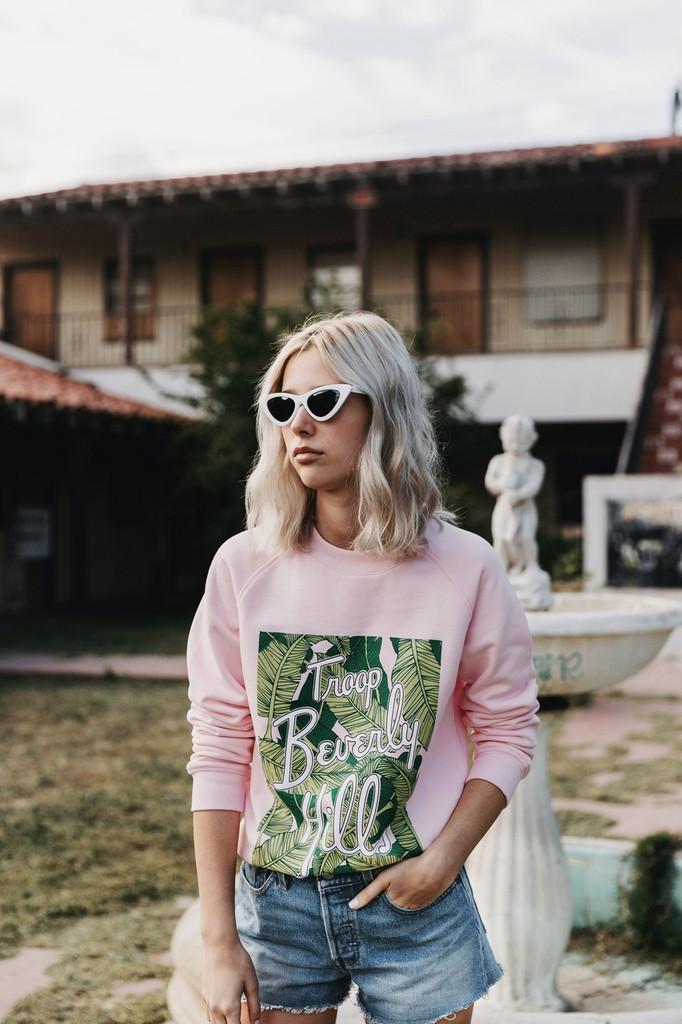 Troop Beverly Hills Sweatshirt- Palm
