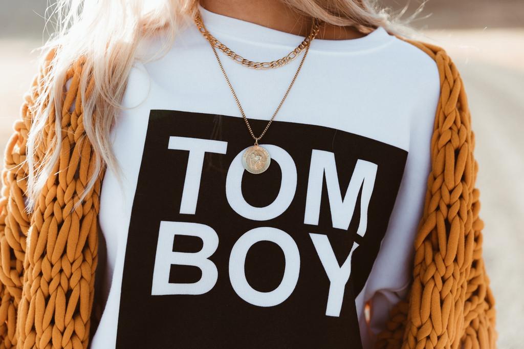 Sweatshirt- Tom Boy