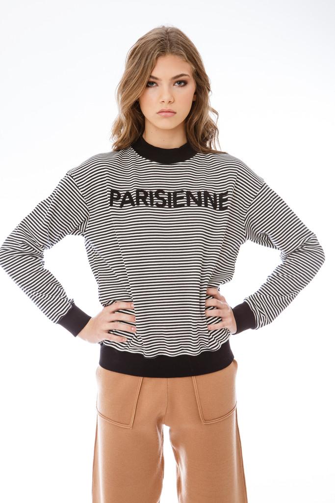 Striped Parisienne Sweater
