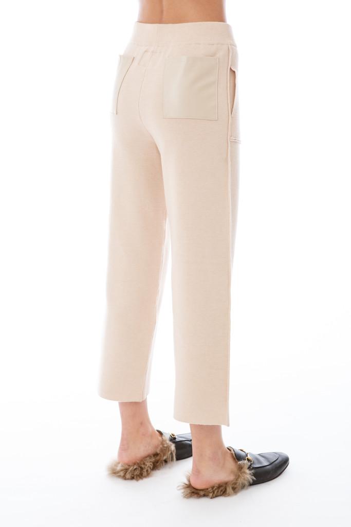 Emm Cream Wide Leg Lounger