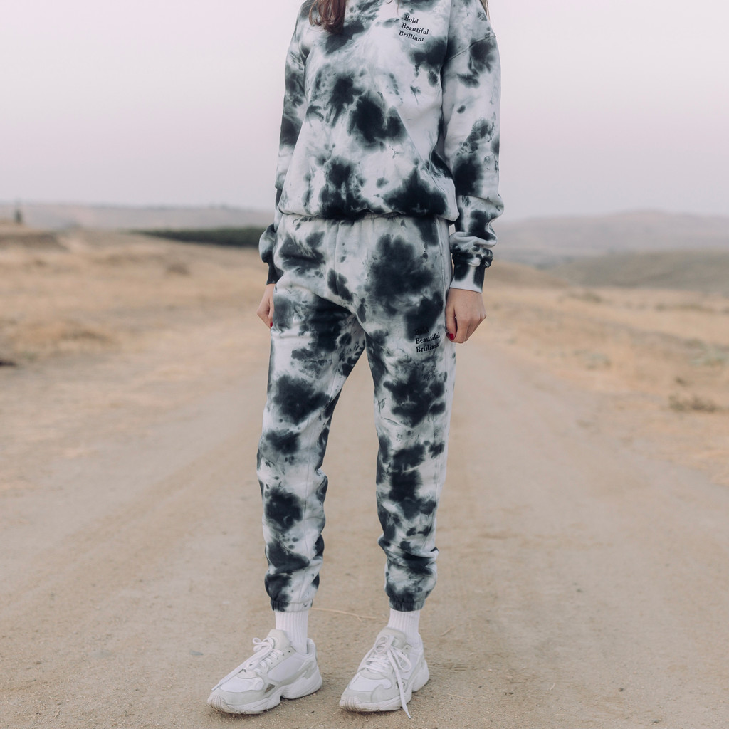 Storm Splatter Classic Joggers - Bold, Beautiful, Brilliant