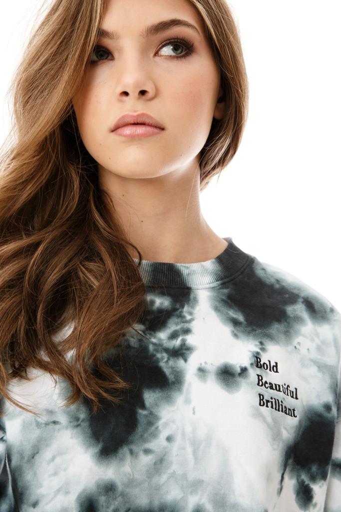 Cloud / Storm Crewneck - Bold Beautiful Brilliant