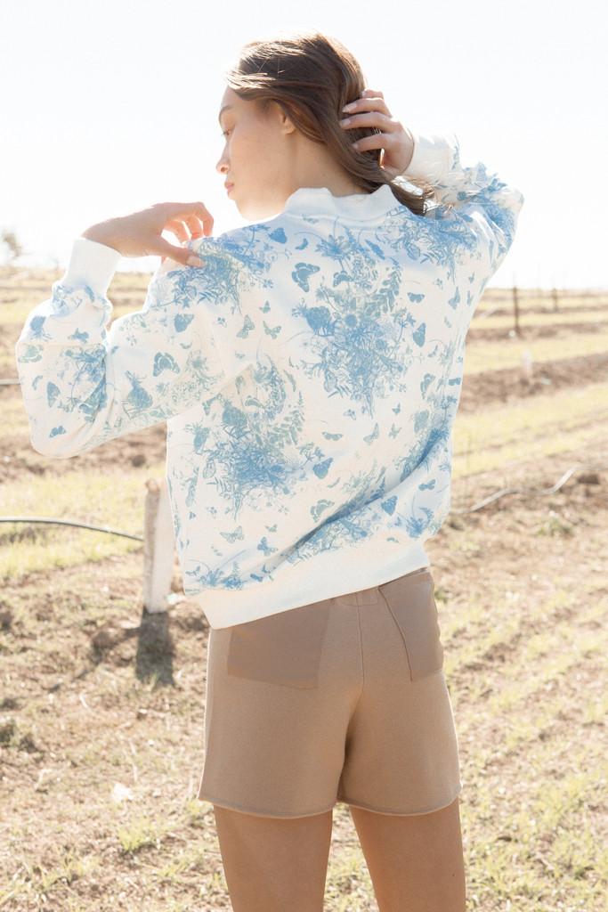 Floral Amour - Crewneck