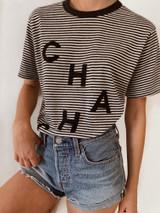 CHA  CHA Striped Tee