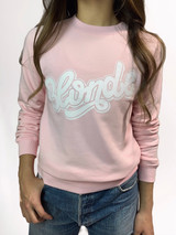 Blonde / Brunette - Blush sweatshirt