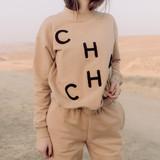 CHA CHA - Tan Sweatshirt