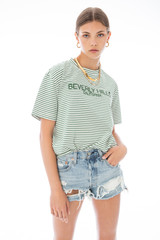 Beverly Hills Striped Tee