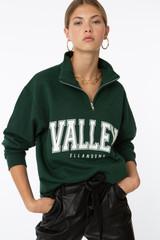 Valley Half Zip- Green
