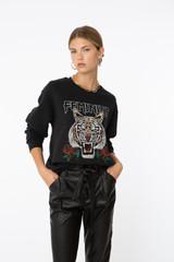 Feminine Tiger Sweatshirt