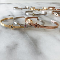 Gold, White Gold, Rose Gold.