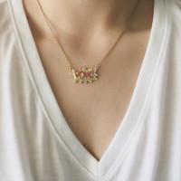 Pow Necklace