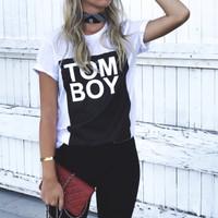 Tom Boy Tee