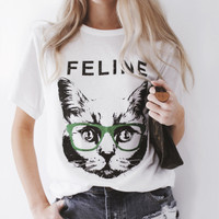 Feline Tee