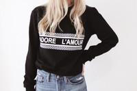 J'ADORE L'AMOUR - Sweatshirt