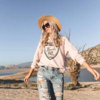 Blush Beverly Hills Sweatshirt