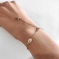 14k Rosary Bracelet