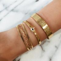 wrapped as a bracelet.