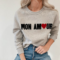 Mon Amour-Sweathsirt