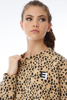 Leopard Animal Print Crewneck