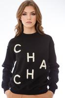 CHA CHA Mock Crewneck-