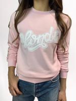 Blonde / Brunette - Blush sweatshirt
