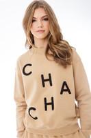 CHA CHA - Tan Sweatshirt-