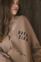 Tan Royal Club - Cardigan