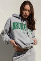 Brunette/ Blonde - Grey Hoodie