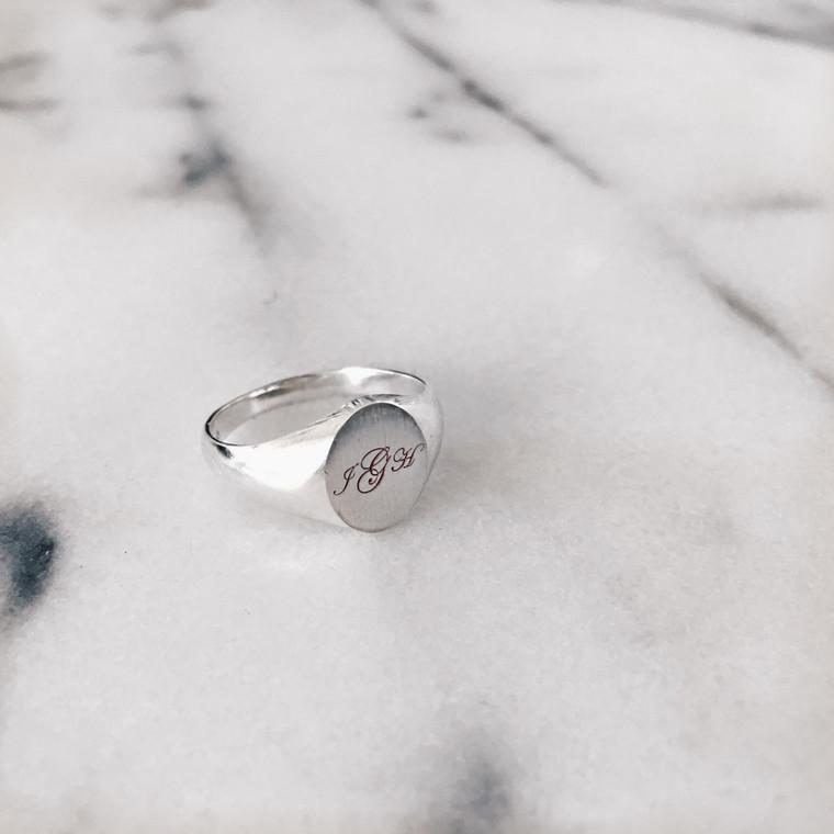 Signet Ring - Sterling Silver