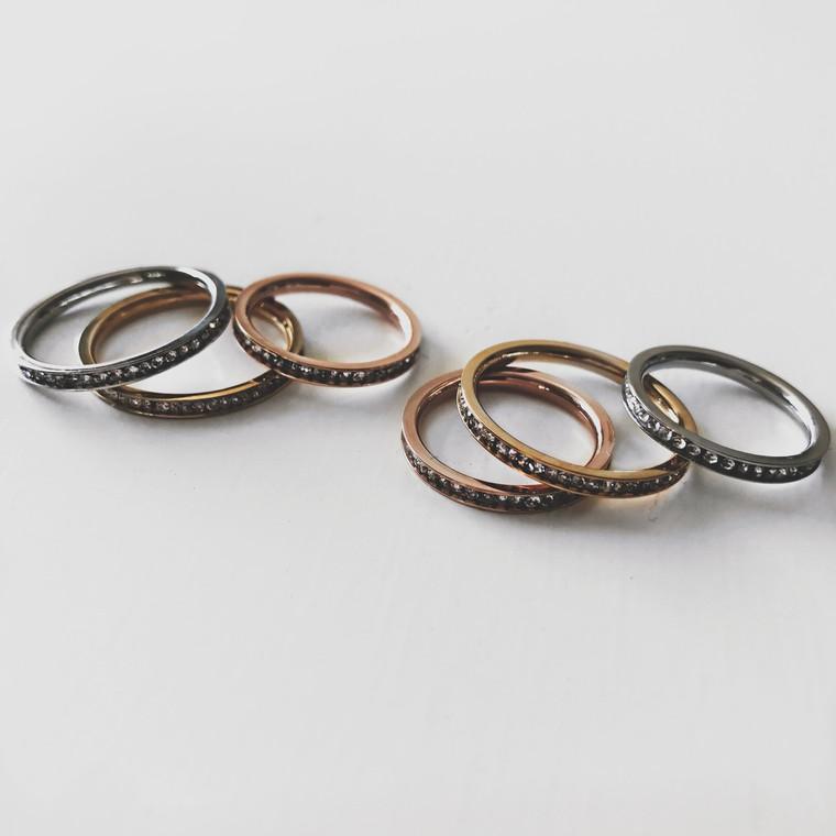 Midi Ring Set of 2