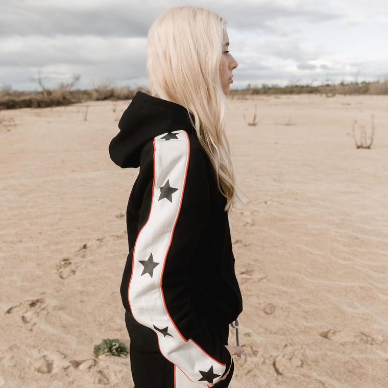 Star Black Hoodie