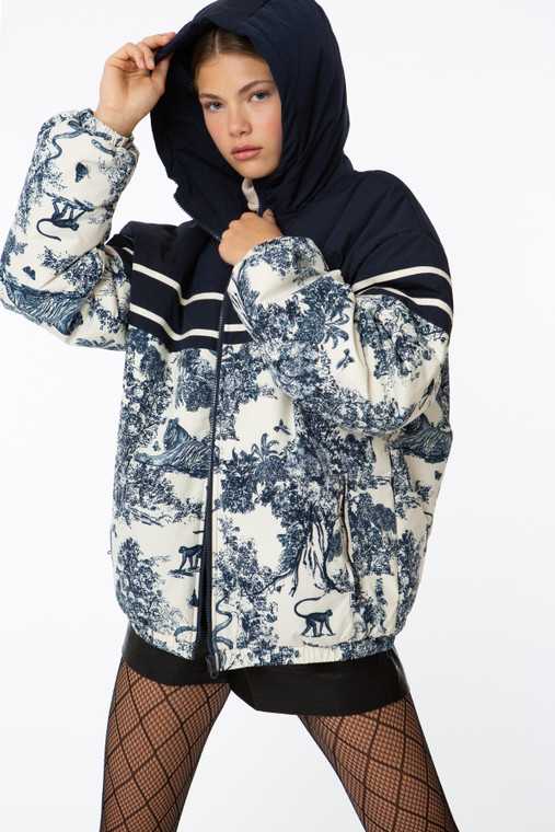Jadore L'Amour Puffer Jacket