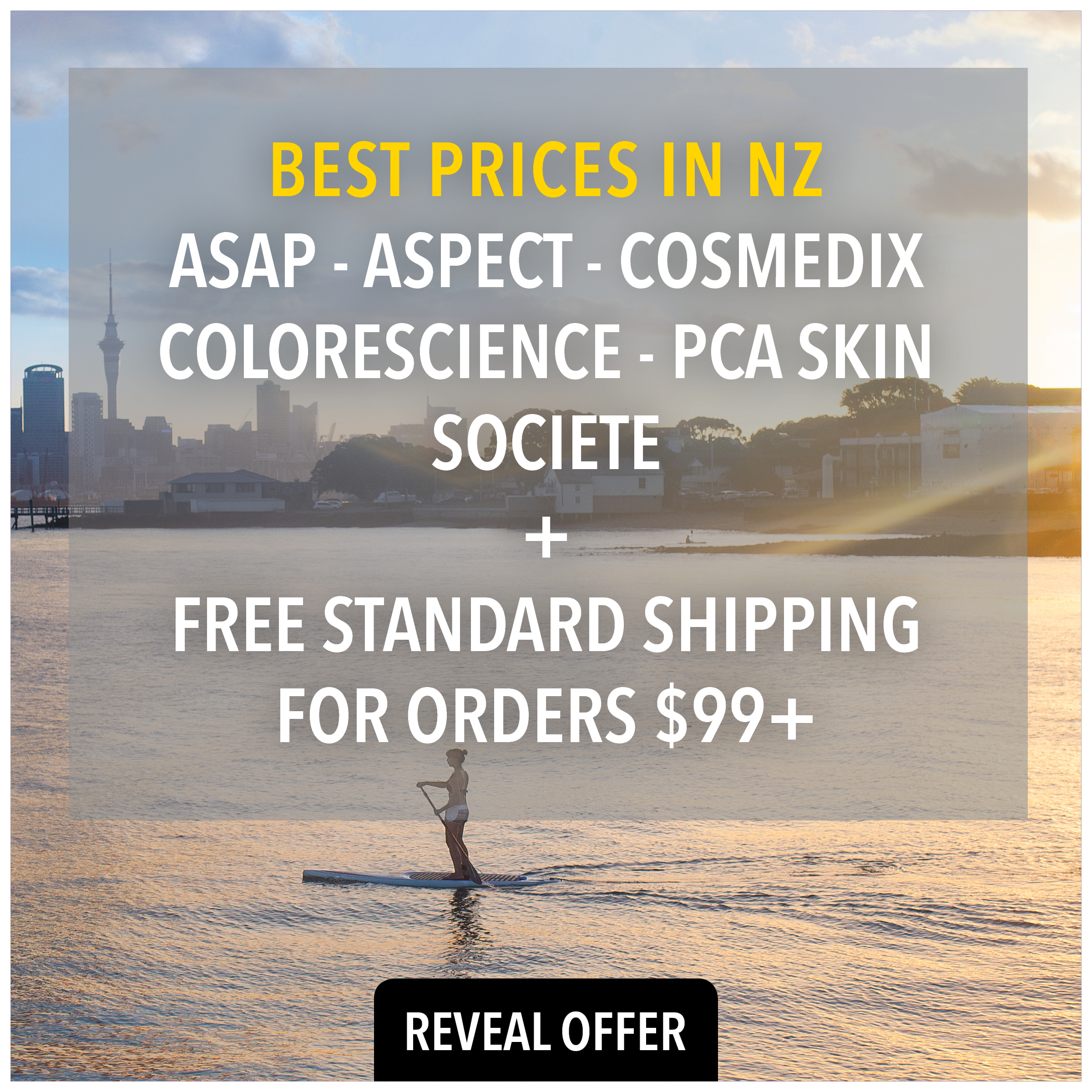 best deals online for asap, aspect and cosmedix skincare only at Prodermal NZ
