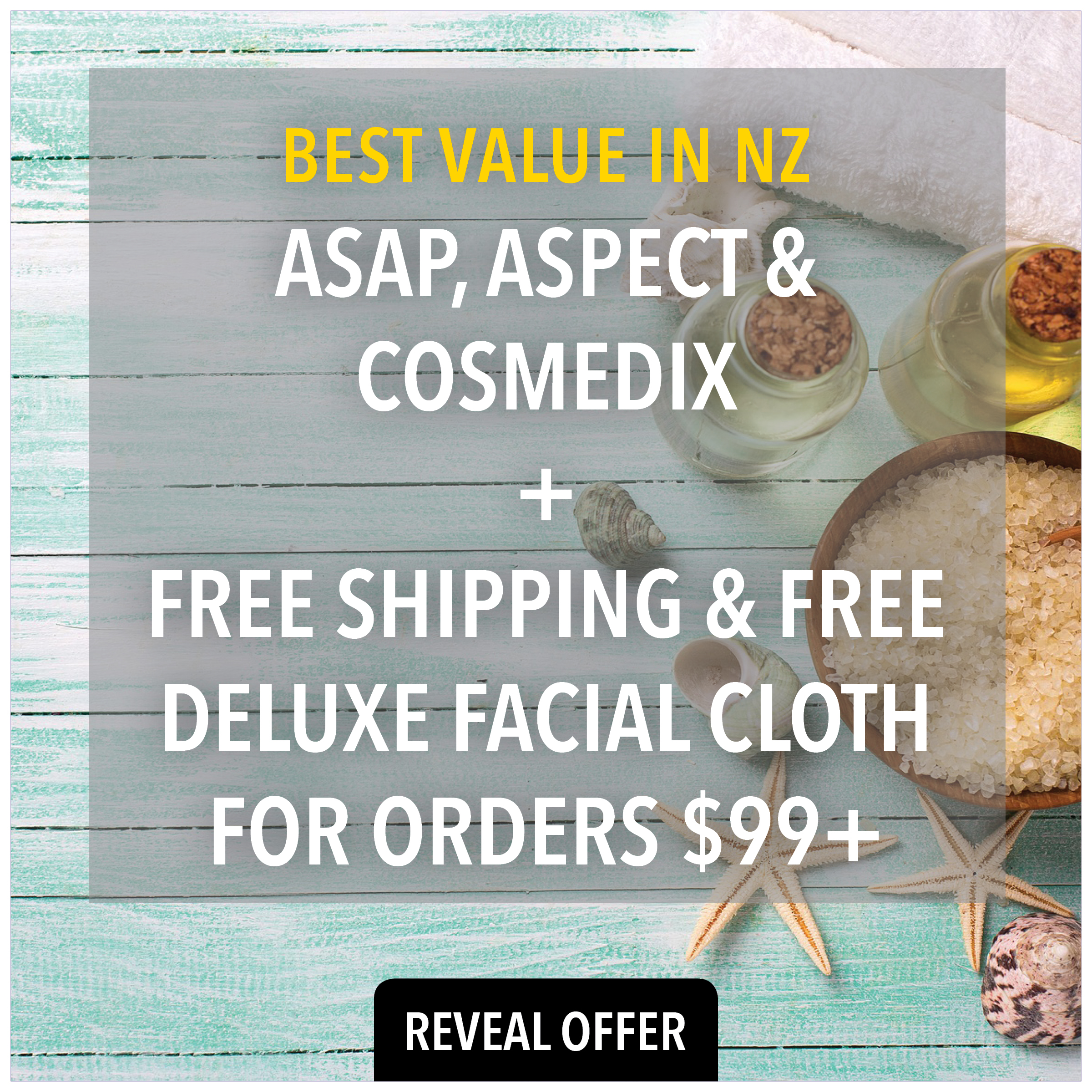 buy asap skincare, aspect skincare and cosmedix skincare from Prodermal NZ