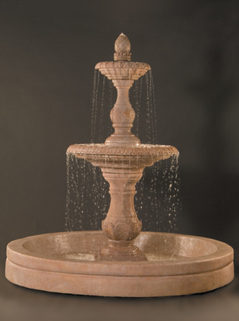 "100"" Four Seasons Fountain with 98"" AWC Basin"