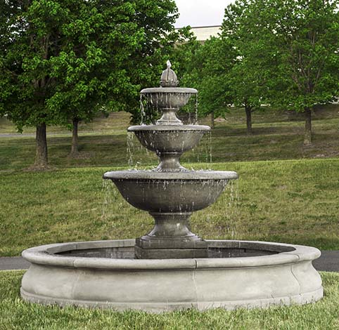 """78"""" Monteros Fountain in Basin - CALL TO ORDER"""