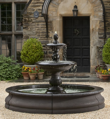 "55"" Caterina Fountain in Basin"
