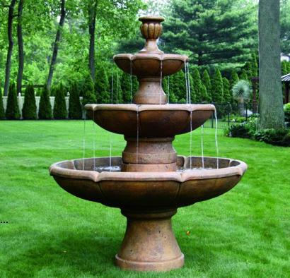 "95"" Three Tier Charlotte Fountain"