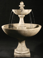 "63"" Trinidad Fountain with International Finial"