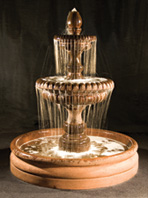 "57"" Pioggia Fountain with 46"" Basin"