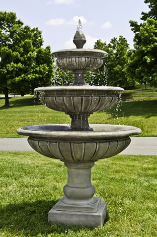 """75"""" Three Tier Longvue Fountain - CALL TO ORDER"""