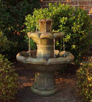 "30"" Montreux Two-Tier Fountain, 3 PC"
