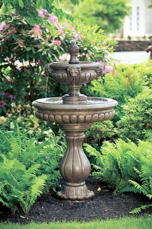 """60"""" Classic Lion Head Fountain"""